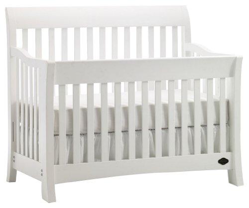 Bonavita Metro Lifestyle Crib, Classic White - 1