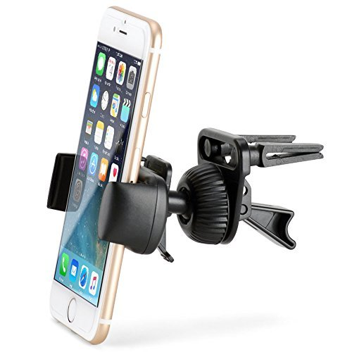 Air Vent Mount - iKross Smartphone Air Vent Car Vehicle Mount Cradle Holder - Black (Vehicle Air Vent compare prices)