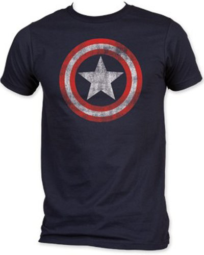 Captain America - Shield Soft Fit T-Shirt