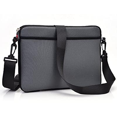 Kroo Microsoft Book 13.5-inch Case | Black Tablet/Laptop Sleeve with Shoulder Strap