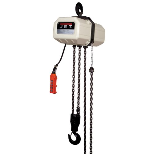 Jet 1Ss-3C-20 1-Ton 3 Phase 20-Feet Lift Electric Hoist