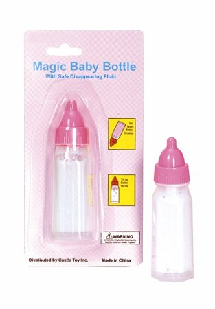 Castle Toy Company Magic Feeding Baby Doll Bottle