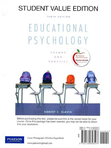 Educational Psychology: Theory and Practice Educational...