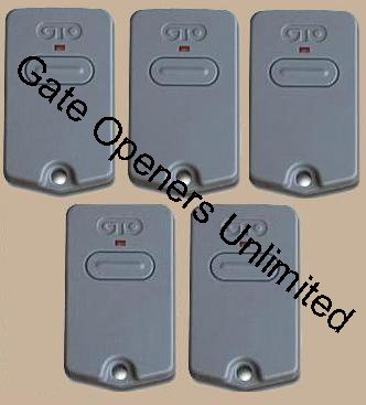 Images for 5 Pack - GTO Rb741 Gate Opener / GTO Gate Opener - Remote Controls