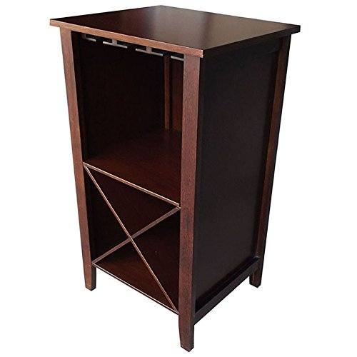Wine Rack End Table Wine Storage Cabinet Furniture