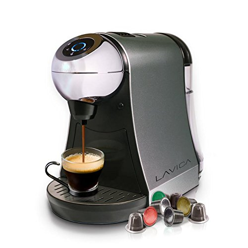 Best Buy! Lavica Single-Serve Brewer for Nespresso Espresso/Tea Capsules (Silver)