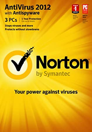 Norton AntiVirus 2012 - 3 PCs [Download] [Old Version]