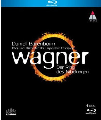 Blu-ray : Daniel Barenboim - Der Ring Des Nibelungen (Germany - Import, 4 Disc)