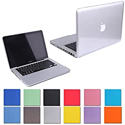 HDE Glossy Hard Shell Clip Snap-on Case for MacBook Pro 13