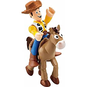 Imaginext Disney / Pixar Toy Story 3 Figure Woody with Bullseye