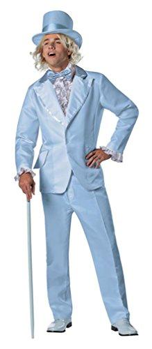 Men's Dumb And Dumber Harry Tuxedo Blue Costume - L/Xl