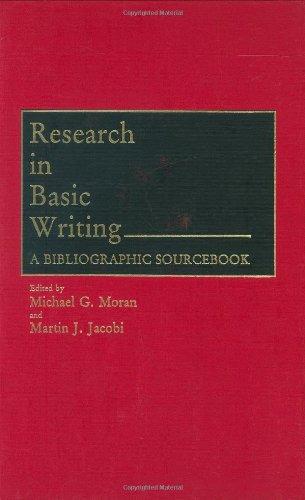Research in Basic Writing: A Bibliographic Sourcebook