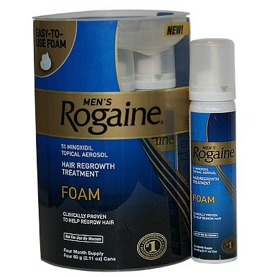 Rogaine Foam 3 Month Supply Mens Hair Growth Review And Deals