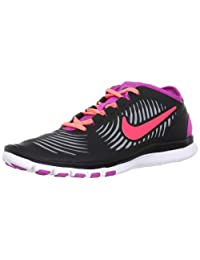 Nike Free Balanza Womens Black/Atomic Red/Stealth/Pink Cross Training Sneakers