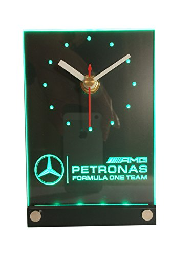 mercedes-amg-petronas-formule-1-f1-team-led-effet-3d-horloge-cadeau-racing