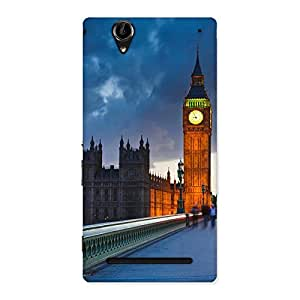 Special London City Multicolor Back Case Cover for Sony Xperia T2
