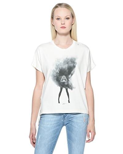 Mia F T-Shirt Donna [Vanilla]