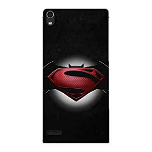 Ajay Enterprises mier Knight Vs Dayoy Back Case Cover for Ascend P6