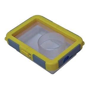 My Aqua Case 6210 Waterproof Housing Case for Casio Exilim EX-S5, S10, S12, S770, S880, Z9, Z29, Z70, Z75, Z80, Z85, Z250, Z270, Z400, Z700, Kodak EasyShare M320, M340, M380, M763, M863, M883, M1033, M1063, M1073, M1093, Nikon Coolpix S220 S230 Compact Digital Cameras-Orange