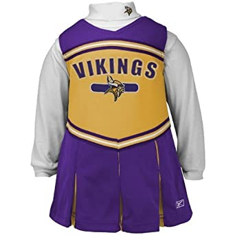 Amazon Reebok Minnesota Vikings Gold Toddler 2 Piece