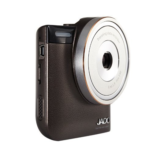"JADO Full HD Super Night Vision Car DVR Anti-shake Dash Cam - 2.4"" High Dynamic Range Rendering (Free 8GB Micro SD Card)"