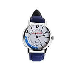 Elligator Analogue White Dial Men's Watch - ELW504