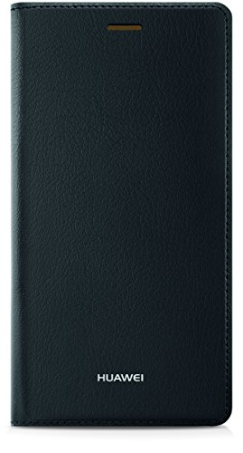 Huawei 51990917 Flip Cover per P8 Lite, Nero
