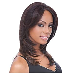 Sensationnel Empress Natural Lace Front Wig - Jane #1 Jet Black