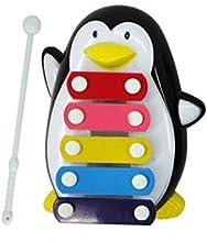 Meily Bebé niño 5 Nota xilófono Juguetes Musicales Sabiduría Desarrollo pingüino