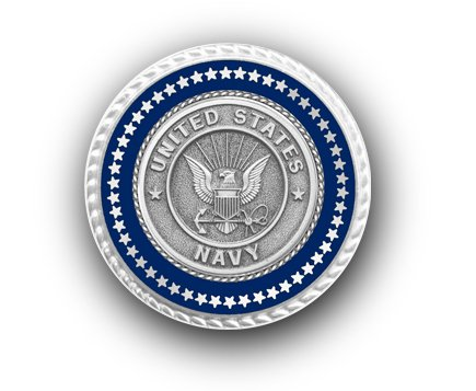 Navy Presidential Tie Tac / Lapel Pin