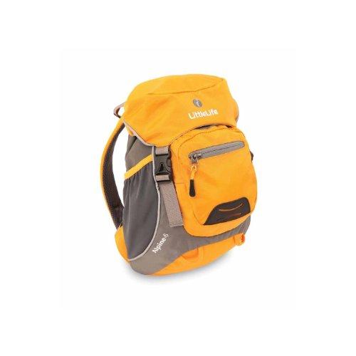 NEW! Littlelife Alpine 4 Kids Daysack - Yellow (Age 3-7yrs)