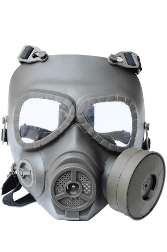 New Airsoft Paintball Full Face Protection M04 Dummy Gas Mask Fan System Sweat Prevent Mist Prop Cosplay Oliver Drab L695