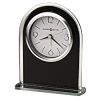 Howard Miller Ebony Luster Table Clock 645-702