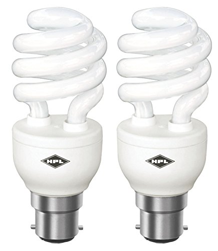 HPL B22 20W CFL Bulb (White, Pack of 2) Image