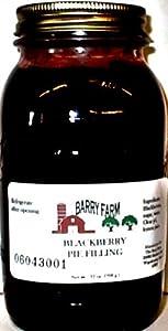 Blackberry Pie Filling Sugar Free 32 Fl Oz from Barry Farm