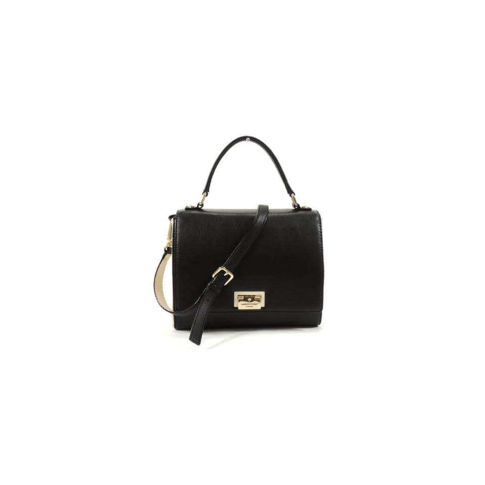 Kate Spade Magnolia Park Laurel Black Leather Handbag