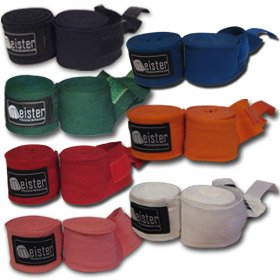 "180"" Elastic Cotton MMA Handwraps (Pair)"