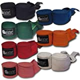 180 Elastic Cotton MMA Handwraps (Pair)