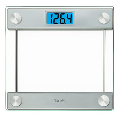 Taylor Precision 7519 Glass Platform Digital 400 lb Bathroom Scale