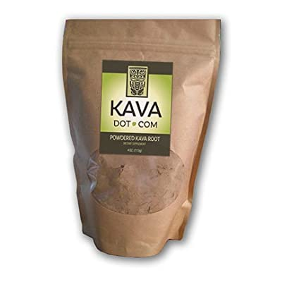 KavaDotCom Premium Powdered Vanuatu Kava Kava Root Extract (16oz)
