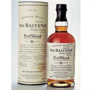 Balvenie Malt 21 ans Portwood Single Malt Whisky 70 cl