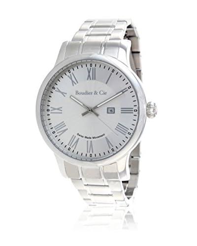 Boudier&Cie Reloj BSSM208B Blanco / Plata 36 mm