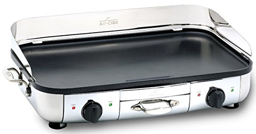 All-Clad 99014 GT Electric Griddle with 20 x 13-Inch Hard Anodized Cooking Surface, Silver (13 X 20 Griddle compare prices)