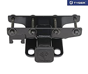 TYGER® Towing Combo: 2inch Receiver Hitch & Wiring Harness & Hitch Cover Fits 2007-2016 Wrangler JK (2Dr & 4Dr)
