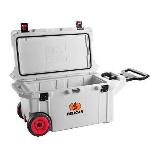 Pelican ProGear 80 Quart Elite Marine Cooler w/ Wheels - White (80 Qt Cooler Pelican compare prices)