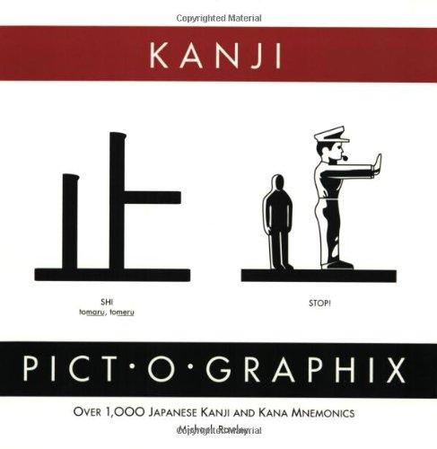 Kanji Pict-O-Graphix: Over 1,000 Japanese Kanji and Kana Mnemonics (Zzz)