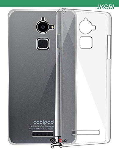 JKOBI Soft Silicone TPU Jelly Transparent Crystal Clear Case Soft Back Case Cover For Coolpad Note 3 Lite (5.0 INCH)