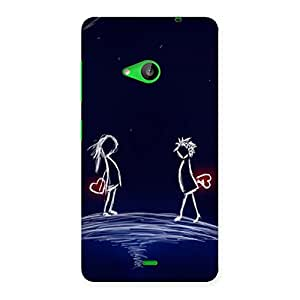 Heaven Couple Back Case Cover for Lumia 535