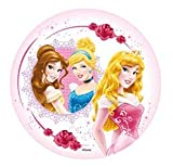 DISNEY PRINCESS CAKE TOPPER 21 CM EDIBLE WAFER / RICE II. PAPER CUP CAKE DECORATION TOPPERS BIRTHDAY PARTY KIDS WEDDING