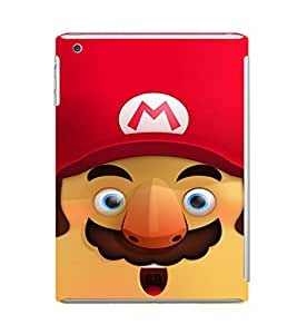 EPICCASE Mario Cartoon Face Mobile Back Case Cover For Apple Ipad Mini 3 (Designer Case)